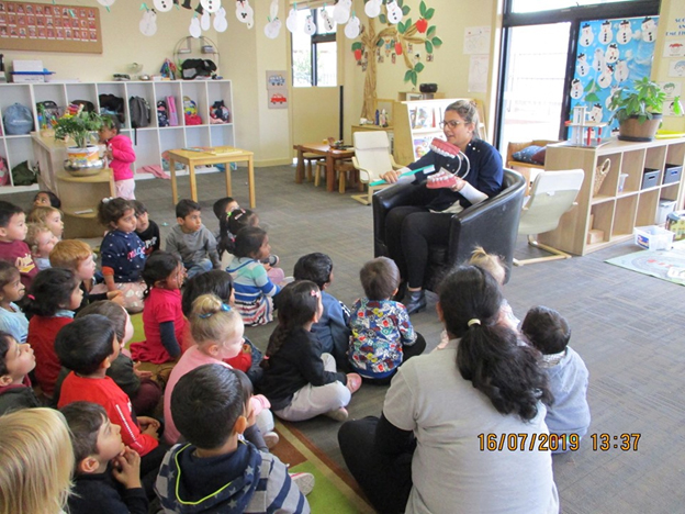 At Dental Health Week our Little Champs learnt about the importance of dental hygiene and healthy eating.